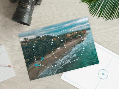 Pura Vida, Costa Rica dribbbleweeklywarmup design mockup graphic design