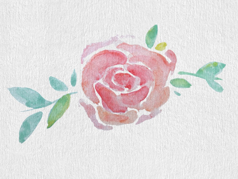 Virtual Garden dribbbleweeklywarmup texture painting watercolor art flower watercolor painting watercolor graphic design design