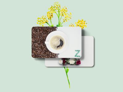 Zen Coffee Bar Las Vegas Gift Card Concept V1