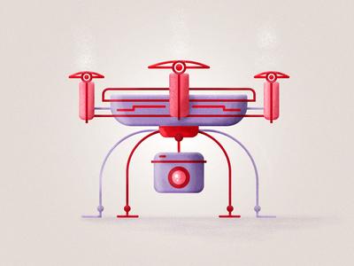 Dron__01 tbt picame artdirection visualdesign illustrator dron motionographer skyuno christmas tv design illustration