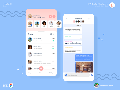 ChatInk app design branding mobile app illustration ux ui
