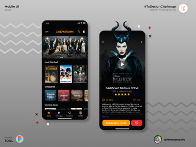 Cinematown uidesign designer
