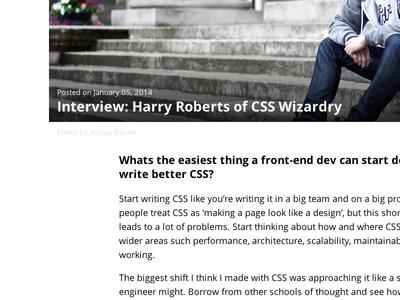 Interview post