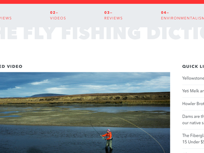 The Fly Fishing Dictionary