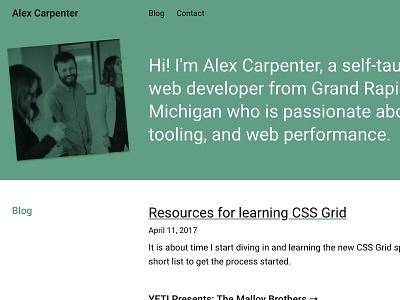 New site build green roboto craftcms