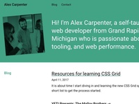 New site build