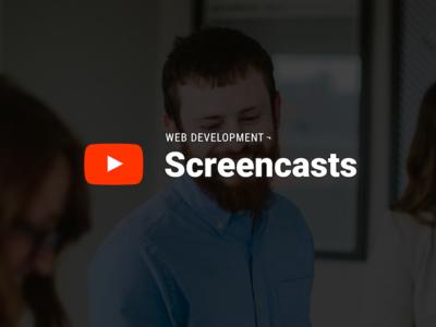 Screencast channel artwork