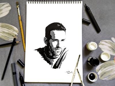 Ryan Reynolds Pop Art