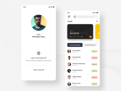 Online Transactions Tracking App