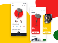 Supes E-Commerce Shopping App Concept