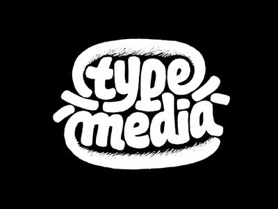 Type and Media hamburger t]m sketching lettering logo marker drawing italic