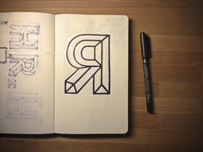 Stone carving sketch lettering stonecarving sketching monolinear cyrillic