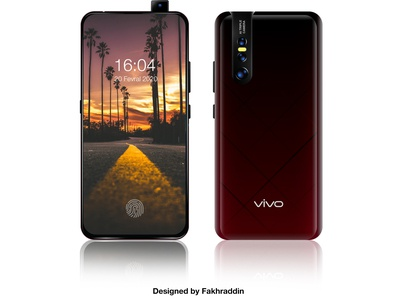 Phone mock up (Vivo)