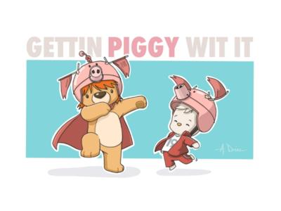 Gettin Piggy Wit It