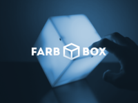 Farbbox. Prototyping an interactive mood lamp. arduino device prototype mood lamp bulb colors light tilt shake industrial design