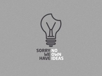 Bulb light apple plagiarism bulb