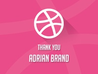 Thank's to Adrian Brand