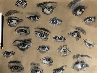 Eyes sketch