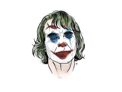 Joker - digital illustration