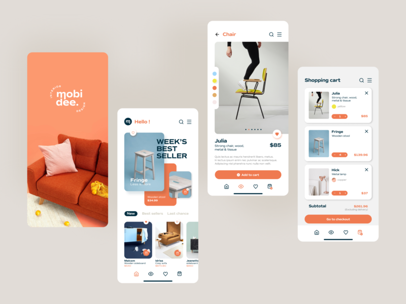 Mobidee – UI training uxdesign uidesign mobile ui mobile app design mobile figma colors app design graphicdesign app ux ui logo branding design adobe illustrator