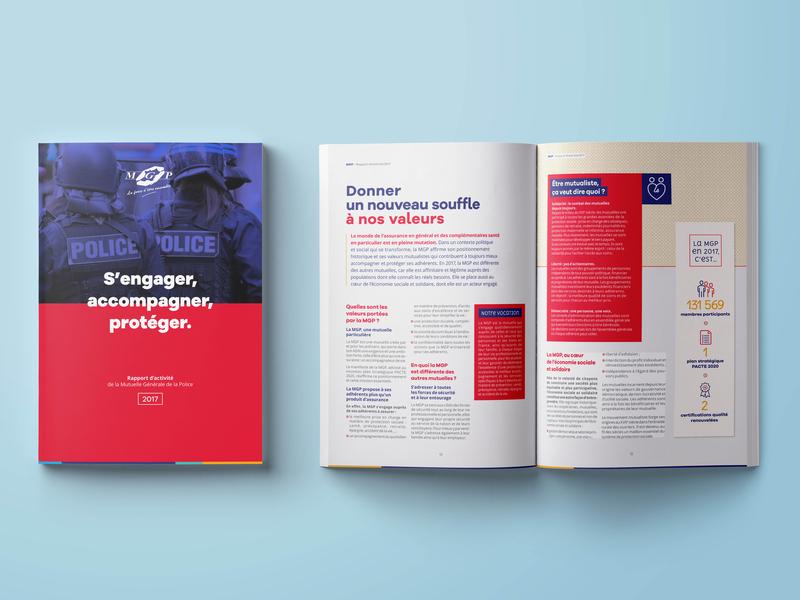 Editorial Design – MGP corporate design adobeindesign editorial design graphicdesign