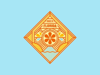 Florida Sticker/Badge