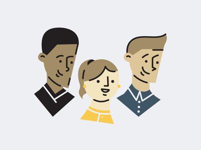 Small Team Illustration