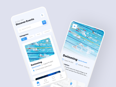 Events Finder App Design mobileappdesign appdesign uxdesign uiuxdesign eventsappdesign concept minimal uidesign uitrend inspiration uiux