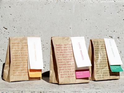 Lucid Organics Packaging Design