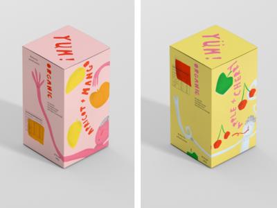 Yummis Fruit Straps Packaging