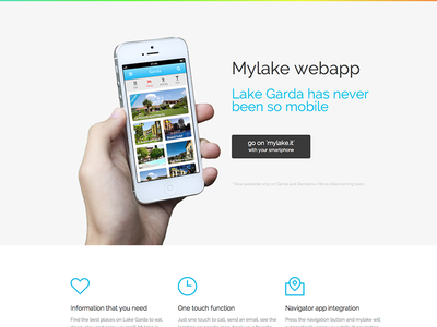 Mylake Responsive WebSite app template iphone app launch page one page responsive css3 html5 modern minimal clean