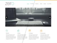 Zero - Responsive HTML5 WebSite