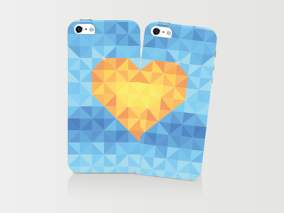 Half Is Not Enough • iPhone Case case iphone love heart