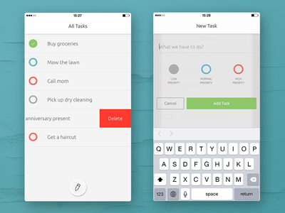 ToDay Webapp v.1.1 today ios minimal clean todo app webapp