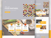 Food Partners homepage