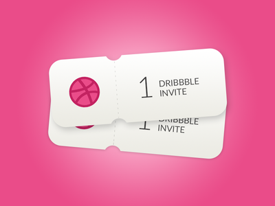2 Dribbble Invites membership invitations giveaway invites invite dribbble invites
