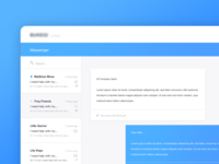 Messenger Web App