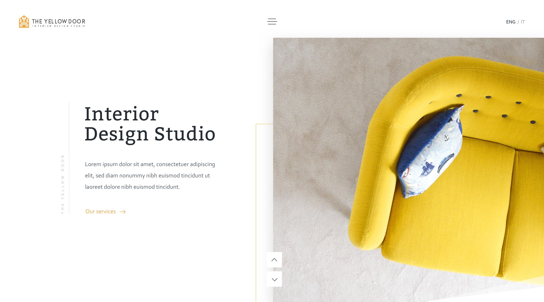 The yellow door   homepage