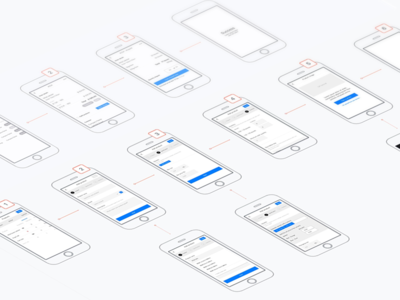 Wireframes - E-commerce app user experience ux ecommerce app wireframes sketches mockup iphone ios