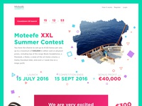 Summer Competition Landing Page