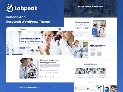 Labpeak   Laboratory & Science Research WordPress Theme woocommerce ecommerce design technology research science laboratory wordpress theme business responsive corporate blog design responsive design