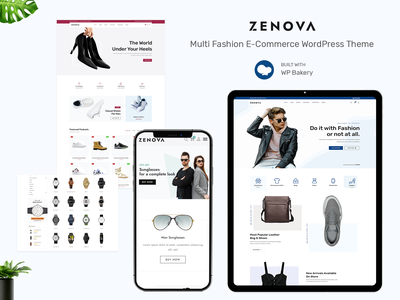 Zenova - Fashion Multi WooCommerce WordPress Theme design logo wordpress development business blog design fashion shop fashion design wordpress theme woocommerce ecommerce design responsive design