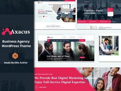 Axacus - Business Agency WordPress Theme seo responsive theme professional services premium wordpress theme finance theme ecommerce creative agency corporate company theme business advisers business bootstrap agency multipurpose agency