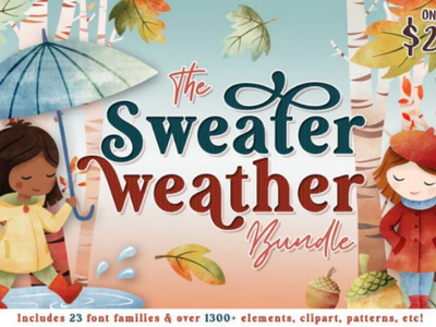 The Sweater weather bundles