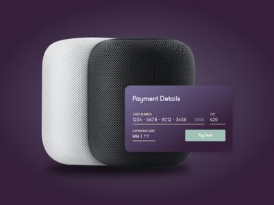 DailyUI #2 - Checkout credit card checkout dailyui