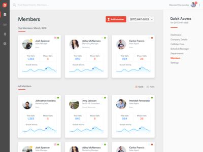 App - Members Page