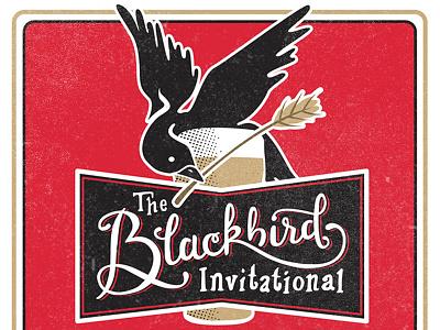 Blackbird Invitational Poster invitational beer bird vintage poster