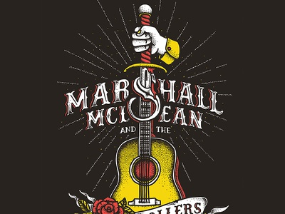 Marshall McLean - Volume Poster guitar band poster tattoo poster