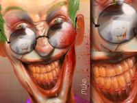 """""""Shameless selfie"""" Joker fanart"""