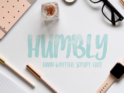 Humbley Script Font